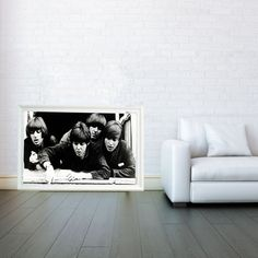 The Beatles Decorative Arts Prints & Posters Wall by VertigoAngle, $18.00