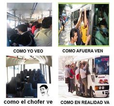 transporte público  #meme