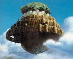 castle in the sky | Laputa--Castle in the Sky
