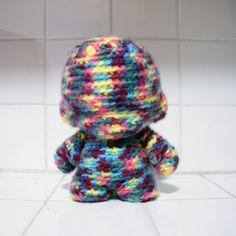 covered in crochet
