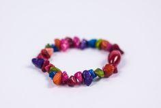 GENUINE HEALING MIX Crystal Chip Bracelet  #Bracelets See more! https://lalamotifs.com/product/genuine-healing-mix-crystal-chip-bracelet/