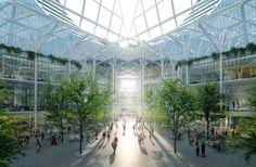 Calatrava reveals £1 billion-scheme for London's Greenwich Peninsula