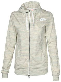 3082901e681a Nike Women s Gym Classic Full Zip Sport Casual HoodieScuba hoodie with  interior drawstring for an adjustable fitFull Zip closureSplit kangaroo  pocketRib hem ...