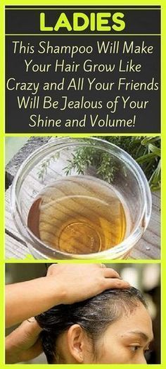 Ladies, This Homemade Shampoo Will Make Your Hair Grow Like Crazy ( All Your Friends Will Be Jealous of Your Shine and Volume! )