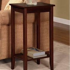 Dorel Home Products coffee brown Tall End Table, http://www.amazon.com/dp/B005QLJL76/ref=cm_sw_r_pi_awdm_PlaHtb096QPA0