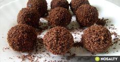 Candy Recipes, Dog Food Recipes, Dessert Recipes, Rum Balls, Chocolate, Winter Food, Cake Cookies, Fudge, Almond