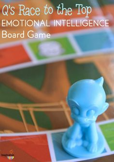 Q's Race to the Top is an interactive, engaging emotional intelligence focused board game for practicing social skills and better behavior. Emotional Child, Social Emotional Learning, Social Skills, Learning Games For Kids, Board Games For Kids, Classroom Fun, Classroom Activities, Kindergarten Behavior, Middle School Health