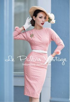 Le Palais Vintage Bodycon Dress