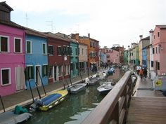 Murano, Italy - Hello glass! This is where my favorite fusing glass is made.