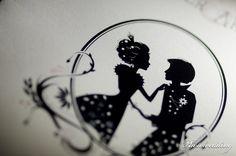 Dessin romantique, thème TIm Burton/Fantastique/Disney