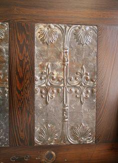 Queen Headboard Made From Reclaimed Door and by DoormanDesigns, $700.00