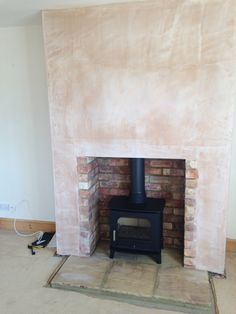 False chimney breast! Colesforfires.co.uk
