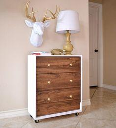 Mid-Century Modern IKEA Rast Hack - Dream a Little Bigger