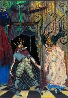 """The Traveling Companion"" by Harry Clarke"