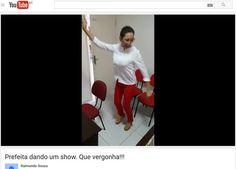 Folha certa : Prefeita do interior do RN é filmada dançando, sup...