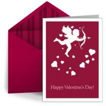 Free online Cupid valentine by Punchbowl