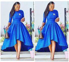 African American Fashion Blazer And Skirt African Attire, African Fashion Dresses, African Wear, African Women, African Dress, African Clothes, Hi Low Dresses, Shift Dresses, 50s Dresses