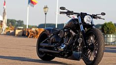 "▷ Harley Davidson Breakout ""Spoke"" by Thunderbike – Motorrad Motorcycle Types, Scrambler Motorcycle, Motorcycle Design, Bike Design, Women Motorcycle, Motorcycle Art, Motorcycle Touring, Chopper Motorcycle, Motorcycle Quotes"