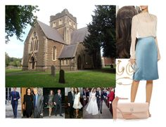"""""""Attending the wedding of her cousin Marilyn Jenkins to Stephen McCormish, with Harry, Ceri, Mathew, Mara,her husband Daniel Craig, her father and stepmother at St Margaret's Church."""" by duchess-danielle ❤ liked on Polyvore featuring Chloé, David Yurman, Nina Ricci, Tory Burch and Gianvito Rossi"""