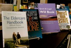 More books on planning for the future for our distinguished patrons.