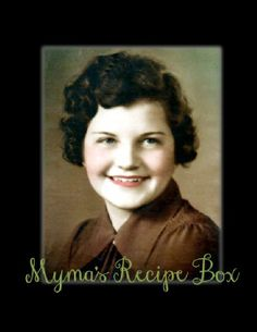Myma's Recipe Box |  by Sassha Motz