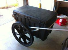 Bug out trailer - ok, this looks handy for a million purposes, just around the house on a weekly basis!