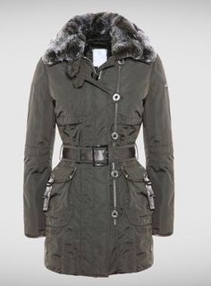 Women's Military Style Jackets Collection 2011-2012 by Peuterey