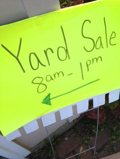 How to Have a Successful Garage Sale - she offers some pointers on how she advertised, priced and set up items for sale.  Craigslist.org and listing some of those key designer items that people desire.