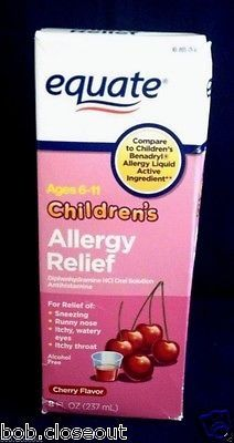 awesome Equate Children's Allergy Relief Cherry Antihistamine Cough Suppressant 8 oz - For Sale View more at http://shipperscentral.com/wp/product/equate-childrens-allergy-relief-cherry-antihistamine-cough-suppressant-8-oz-for-sale/