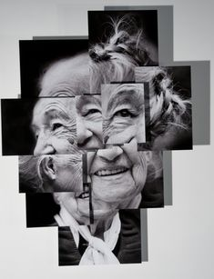 Portrait sculpture photography by brno del zou Montage Photography, Photography Collage, Photography Projects, Creative Photography, Portrait Photography, Face Collage, Collage Portrait, Collage Frames, Photomontage