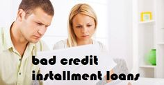 Bad credit installment loans are speedy; irritate free and uncomplicated finance for low creditors that can with no trouble be getting hold of with the support of internet during emergency time. By making appropriate refund, they can eliminate their low credit scores for excellent financial services.