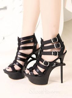 New Arrival Hollow-out Stiletto  Heel Sandals
