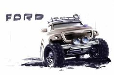 cirsanov_73 - .Ford - Портфолио дизайнеров - Портфолио дизайнеров - Cardesign.ru