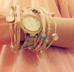 Golden hand stack.. #perfectdream