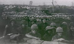 """Cut off and surrounded, about 5,000 Marines and their supporting forces, including the men of Bravo Company, 1st Battalion, 26th Marine Regiment, seen here, successfully defended Khe Sanh Combat Base from three NVA divisions and about 20,000 troops during an 11-week siege in early 1968. Fifty years after the start of the war, the men of Bravo have told their story for the first time in the form of a new documentary film, """"Bravo! Common Men, Uncommon Valor,"""" which describes some..."""