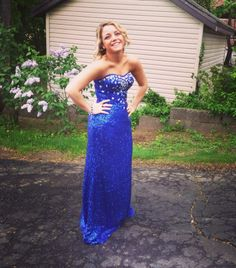 Julianna looking amazing in her Showtime Collection Gown from @DressesByRusso!  #Prom2014 #DressesByRusso #PromDress