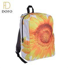 Wholesale 3D full printing fantasy waterproof school backpack for girls
