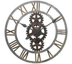 "Howard Miller Crosby 30"" Wide Wall Clock | 55DowningStreet.com"