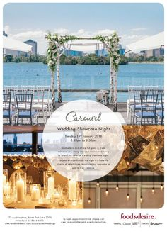 Carousel Wedding Showcase Night: food&desire & Where the Grass is Green   #weddingshowcase #carouselalbertpark #wtgig