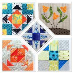 Splendid Sampler, blocks 21-25 (Laila Nelson)