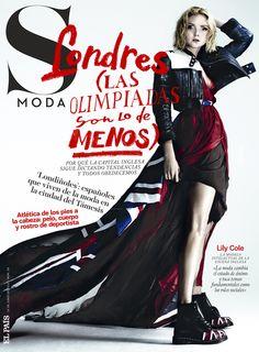 S Moda 39. Lily Cole fotografiada por Damon Baker con letras de Sergio Jiménez-Subcoolture.