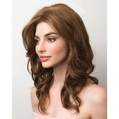 Find the Charlotte Wavy by Amore Wigs. Shoulder length with textured layers, a soft body in a lace from mono top cap and Remy Human Hair. Remy Human Hair, Human Hair Wigs, Curly Wigs, Wig Styles, Curly Hair Styles, Wig Hairstyles, Wedding Hairstyles, Mexican Hairstyles, Layered Hairstyles