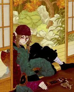 Manga Art, Manga Anime, Mononoke Anime, Sun Ken Rock, Shadow Of The Colossus, Ghibli Movies, Lol League Of Legends, Bishounen, All Anime