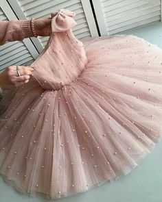 Princess dress for girls, powder tulle dress for girls, birthday dress Princess dress for girls powder tulle dress for girls Girls Frock Design, Kids Frocks Design, Baby Frocks Designs, Baby Dress Design, Baby Girl Frocks, Frocks For Girls, Dresses Kids Girl, Baby Dresses, Kids Dress Wear