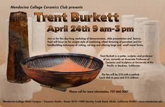 Trent Burkett Ceramics Workshop