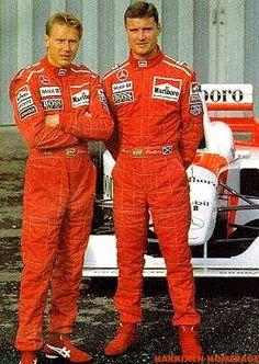 Mika Hakkinen and David Coulthard Marlboro McLaren Mercedes 1996