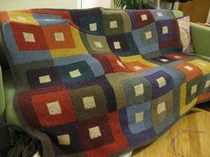 melanie's moving to germany blanket by sealdaze, via Flickr