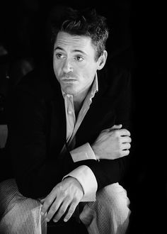 RDJ the man's just pretty end of story.