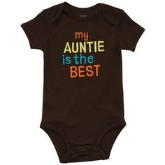 If it's a boy, he will be sporting this! I'm going to be the best Aunt ever! (: