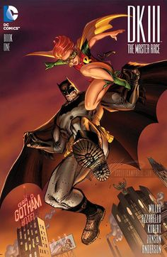 The Dark Knight III - The Master Race #1 variant cover by J. Scott Campbell *